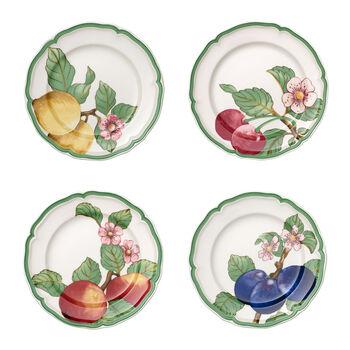 French Garden Modern Fruits Speiseteller 4er-Set
