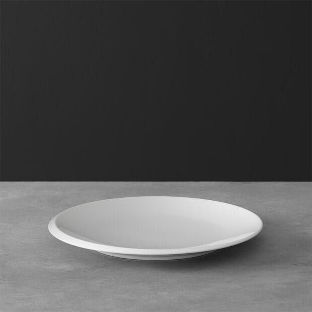 NewMoon Frühstücksteller, 24 cm, Weiß, , large
