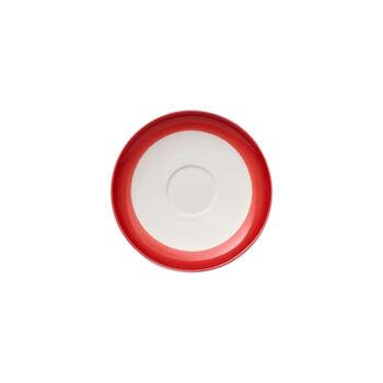 Colourful Life Deep Red Mokka-/Espressountertasse 12cm