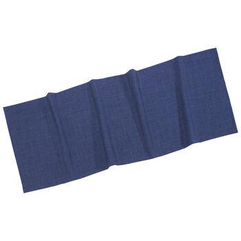 Textil Uni TREND Tischläufer marine 50x140cm