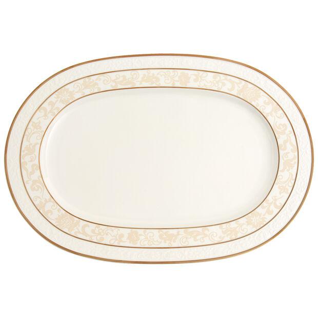 Ivoire Platte oval 41cm, , large