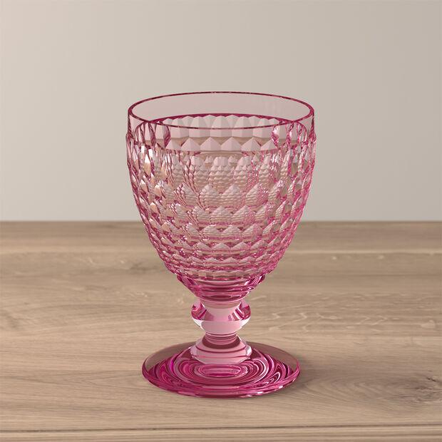 Boston Coloured Rotweinglas Rose, , large