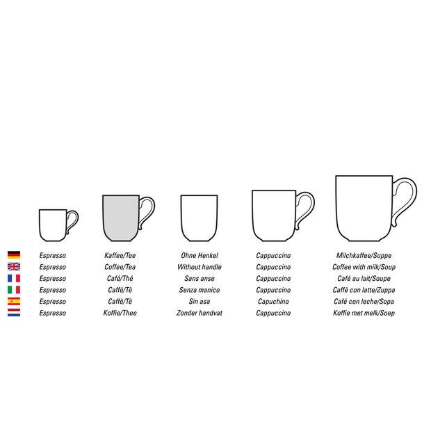 Twist White Kaffee-/Teetasse, , large