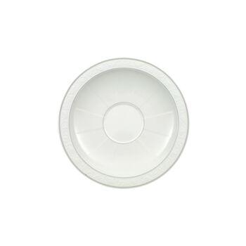 Gray Pearl Suppenuntertasse