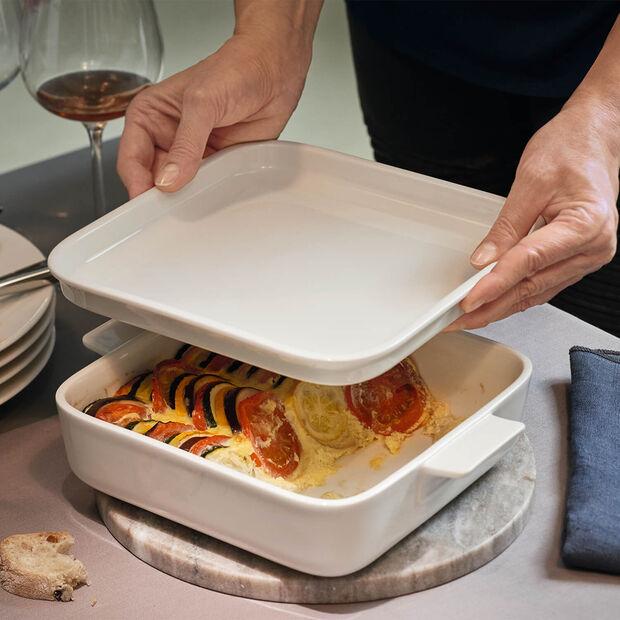 Clever Cooking quadratische Servierplatte 22 x 22 cm, , large