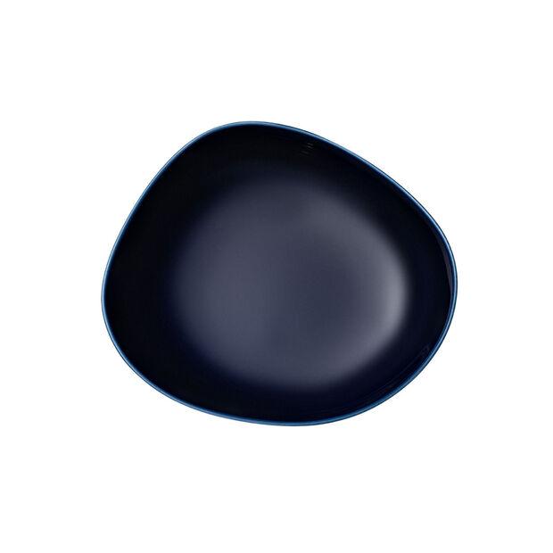 Organic Dark Blue tiefer Teller, dunkelblau, 20 cm, , large