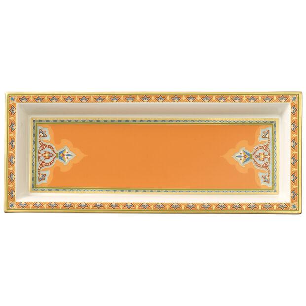 Samarkand Mandarin Schale rechteckig 25x10cm, , large