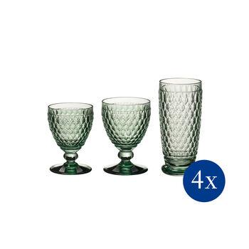 Boston coloured Gläser-Set, 12-teilig
