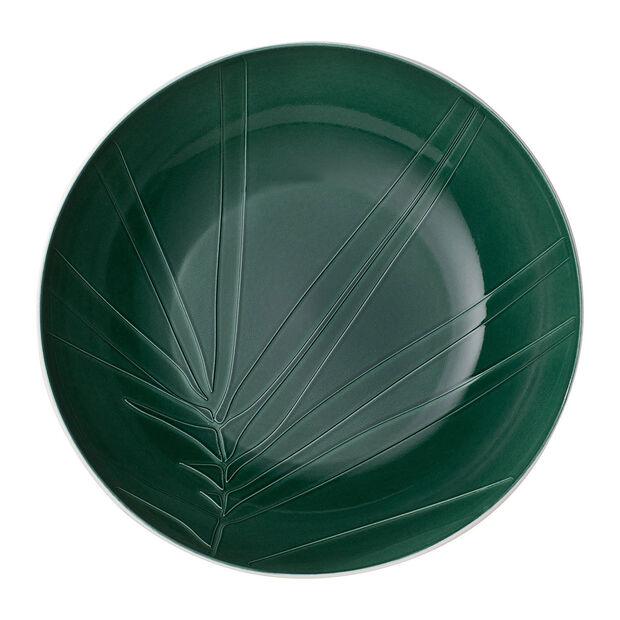 it's my match Green Servierschüssel Leaf, , large