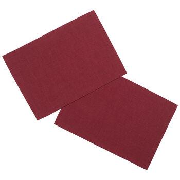 Textil Uni TREND Platzset bordeaux S2 35x50cm