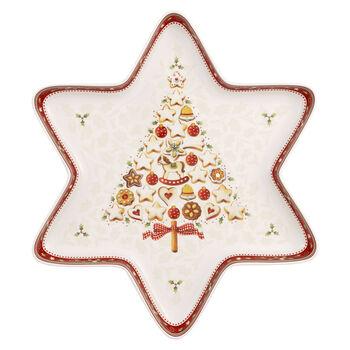 Winter Bakery Delight große Sternschale