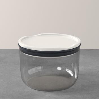 ToGo&ToStay Lunchbox, 13x9,5cm, rund, grau