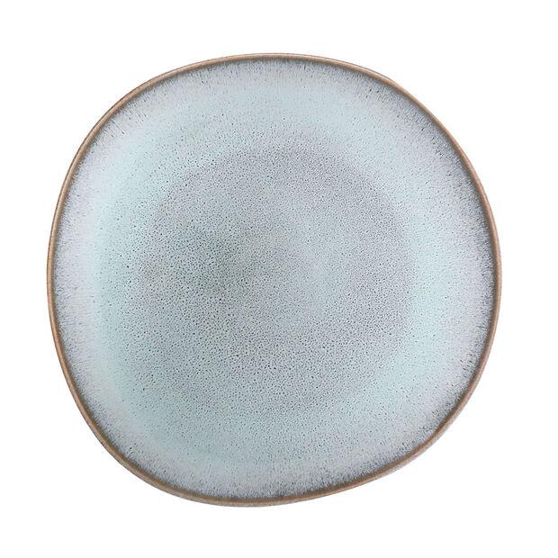 Lave Glacé Speiseteller, türkis, 28 x 28 x 2,7 cm, , large