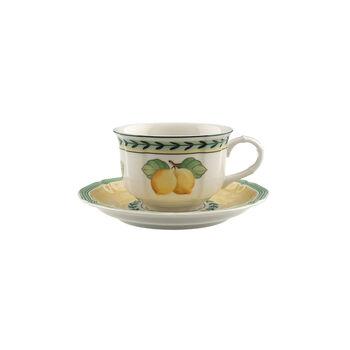 French Garden Fleurence Teetasse mit Untertasse 2-teilig