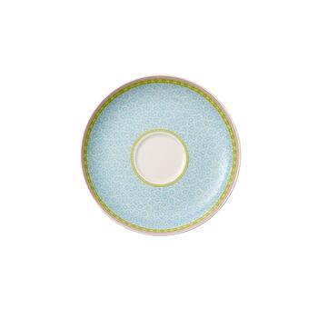 Rose Cottage Teeuntertasse blau 18cm