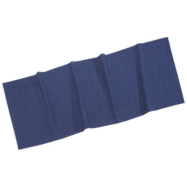Textil Uni TREND Tischläufer marine 50x140cm, , large