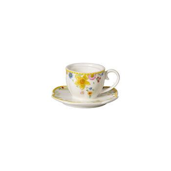 Spring Awakening Teelichthalter, Tasse, gelb/bunt