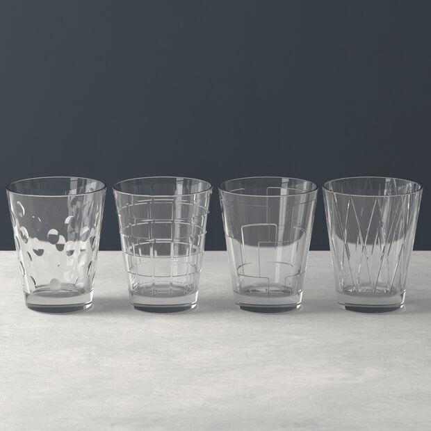 Dressed Up Wasserglas-Set Smoke 4-teilig, , large