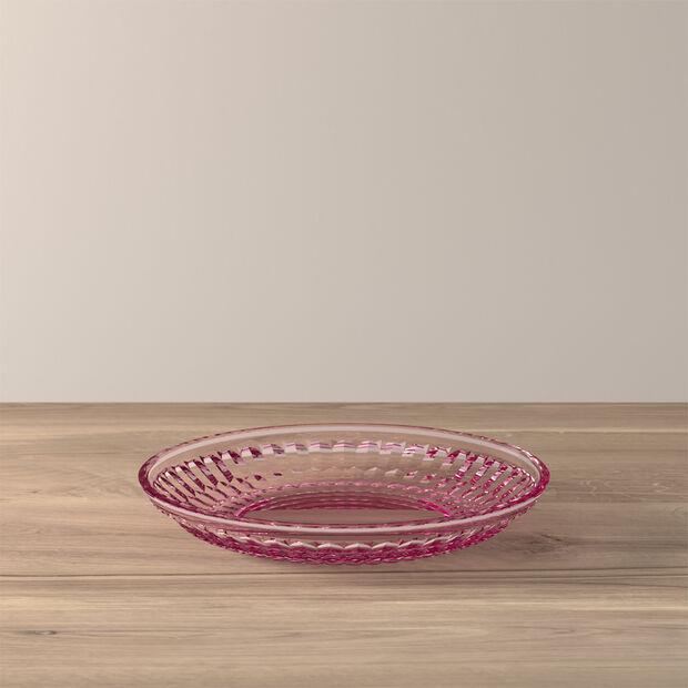 Boston Coloured Salat- und Dessertteller, rose, 21 cm, , large