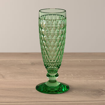 Boston Coloured Sektglas Green