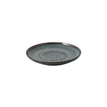 Crafted Breeze Kaffee-Untertasse, graublau, 15 cm