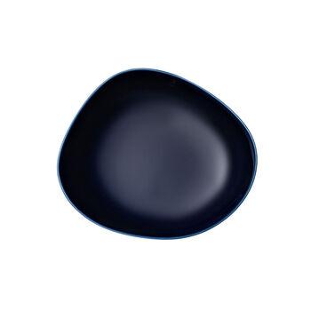 Organic Dark Blue tiefer Teller, dunkelblau, 20 cm