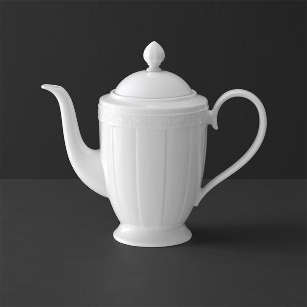 White Pearl Kaffeekanne 6 Pers., , large