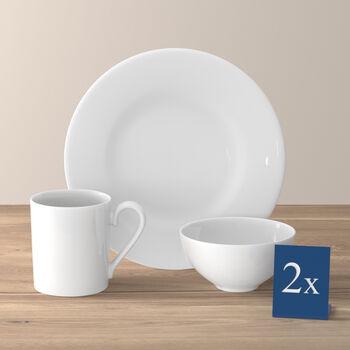 Royal Frühstücks-Set für zwei 6-teilig