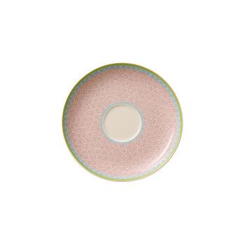 Rose Cottage Teeuntertasse pink