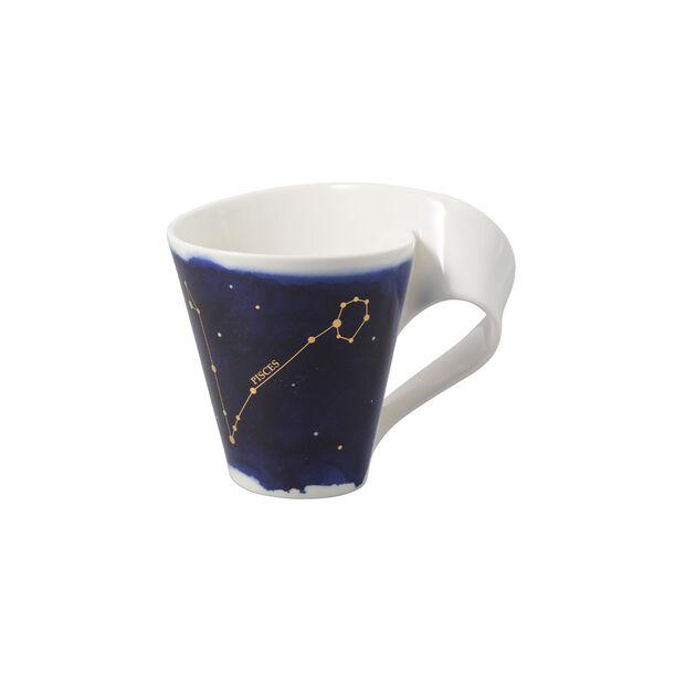 NewWave Stars Becher Fische, 300 ml, Blau/Weiß, , large