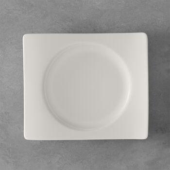 NewWave rechteckiger Frühstücksteller 24 x 22 cm
