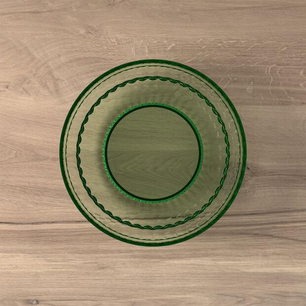 Boston Coloured Salat- und Dessertteller, grün, 21 cm, , large