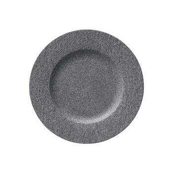 Manufacture Rock Granit Speiseteller, 27 cm, Grau