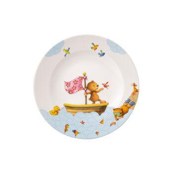 Happy as a Bear Kinderteller flach 21,5x21,5x1,5cm