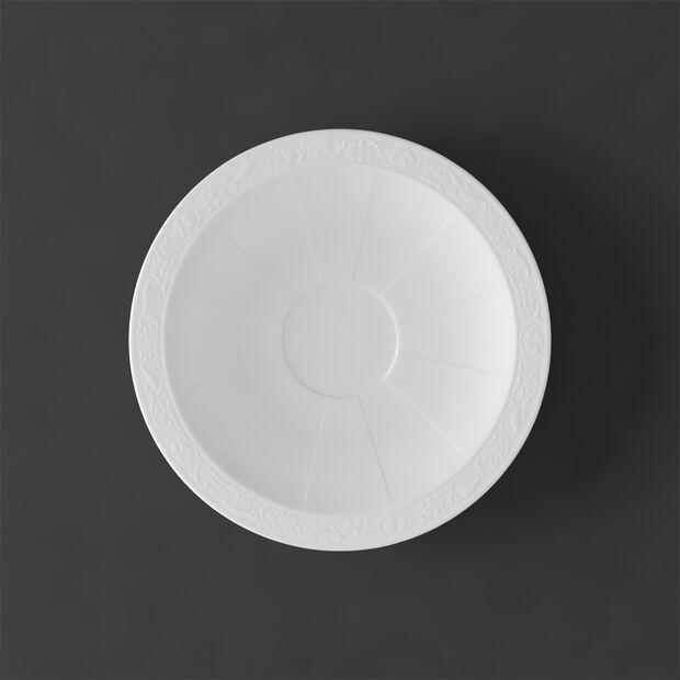 White Pearl Tee-/Kaffeeuntertasse, , large