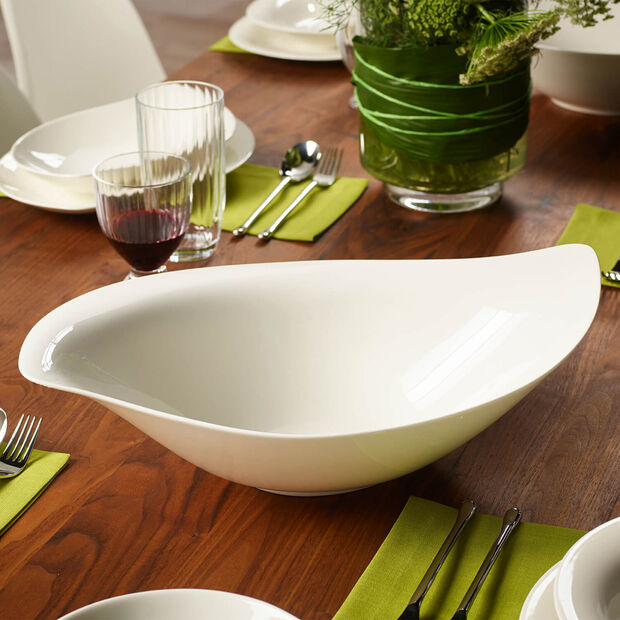 New Cottage Special Serve Salad Salatschüssel 45x31 cm, , large