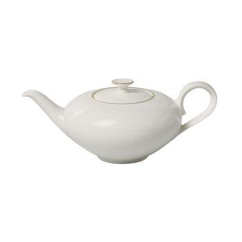 Anmut Gold Teekanne, 1 l, Weiß/Gold
