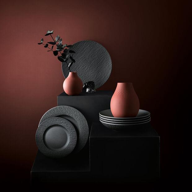 Manufacture Collier terre kleine Vase, Perle, 11x11x12cm, , large