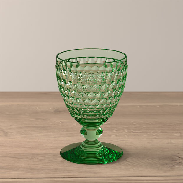 Boston Coloured Weißweinglas Green, , large