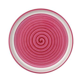 Clever Cooking Pink runde Servierplatte 26 cm