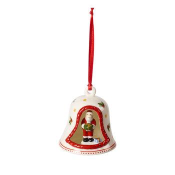 My Christmas Tree Glocke mit Santa-Figur, bunt, 6 x 6 x 7 cm