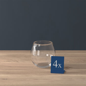 Entrée Wasserglas, 570 ml, 4 Stück