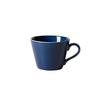 Organic Dark Blue Kaffeetasse, dunkelblau, 270 ml