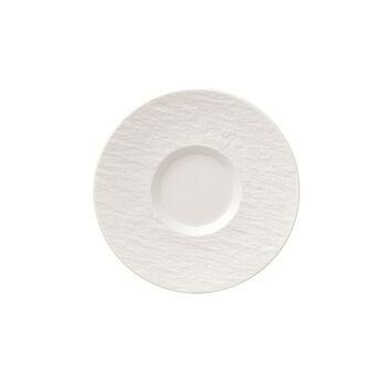 Manufacture Rock Blanc Kaffeeuntertasse, weiß, 15,5 x 15,5 x 2 cm