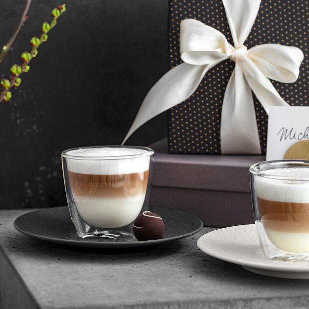 Manufacture Rock Blanc Café au lait Untertasse, 17 cm, , large