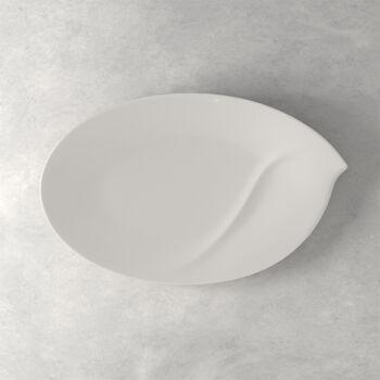 Flow ovale Platte 47 cm