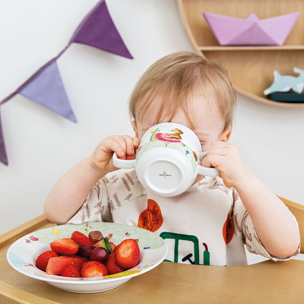 Hungry as a Bear Kinderbecher mit 2 Henkel 140x80x70mm, , large