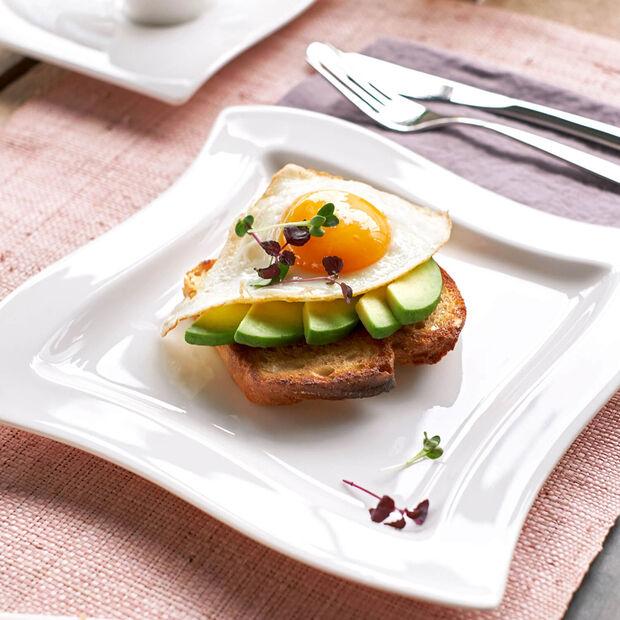 NewWave quadratischer Frühstücksteller, , large