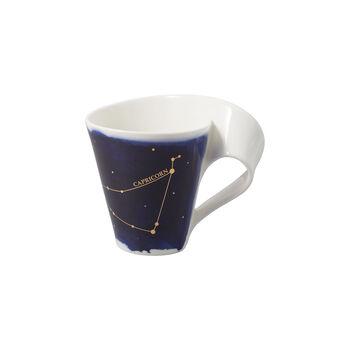 NewWave Stars Becher Steinbock, 300 ml, Blau/Weiß