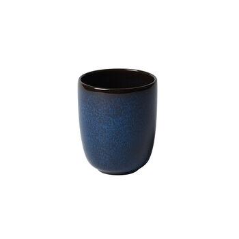 Lave bleu Becher ohne Henkel 9x9x10,5cm